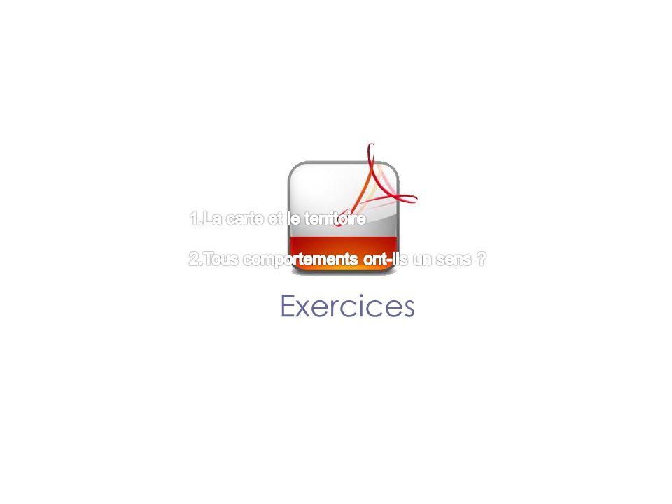 Exercices 1.La carte et le territoire