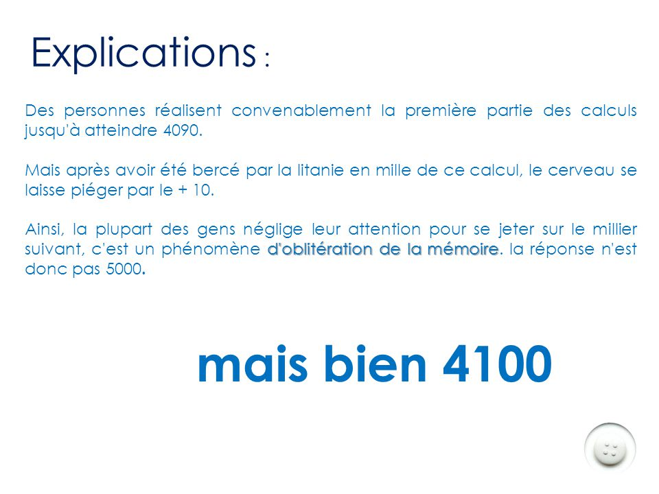 mais bien 4100 Explications :