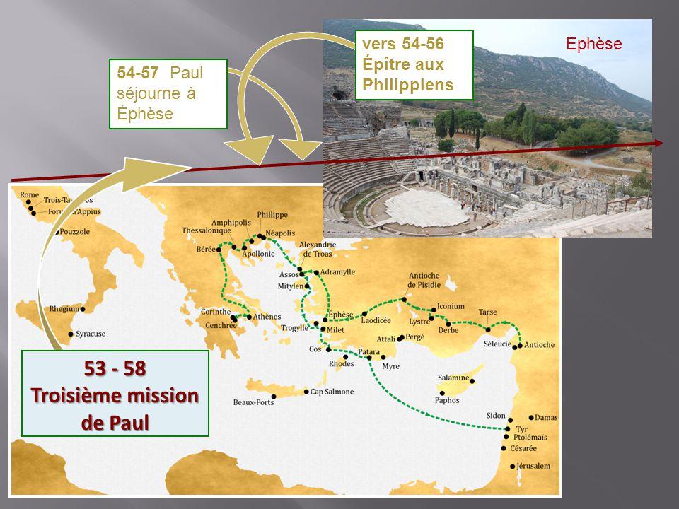 53 - 58 Troisième mission de Paul