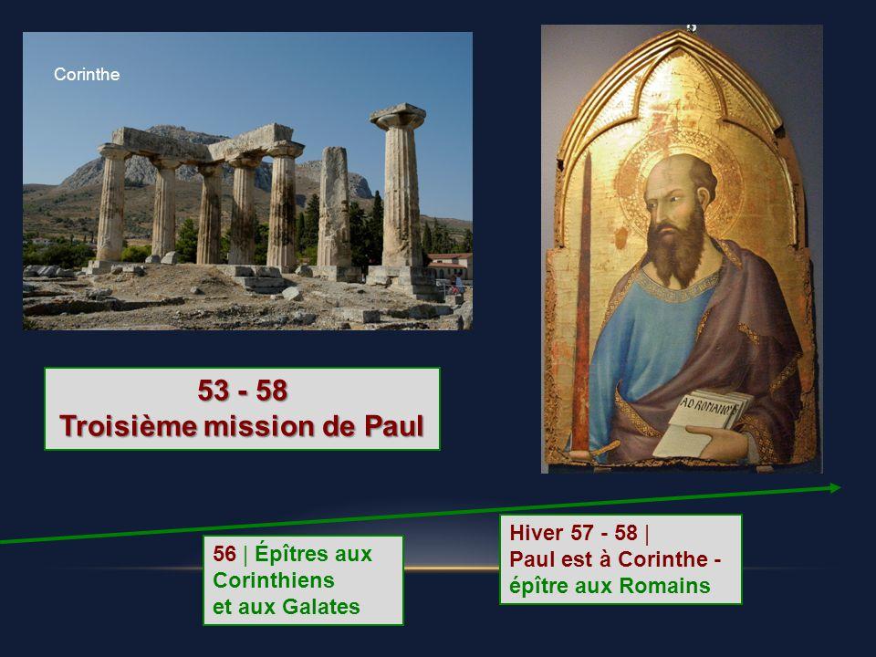 Troisième mission de Paul