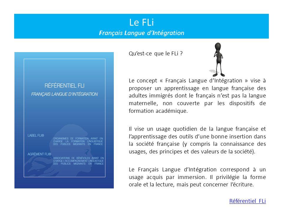 Le FLi Français Langue d'Intégration