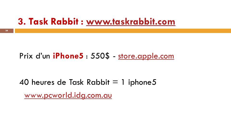 3. Task Rabbit : www.taskrabbit.com
