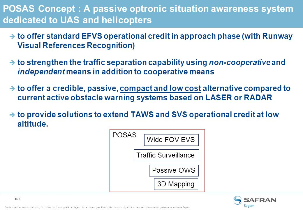 Sagem A Wide Range Of Embedded Optronic Systems Ppt