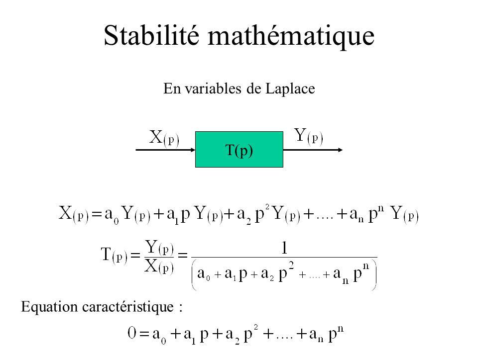 Stabilité mathématique