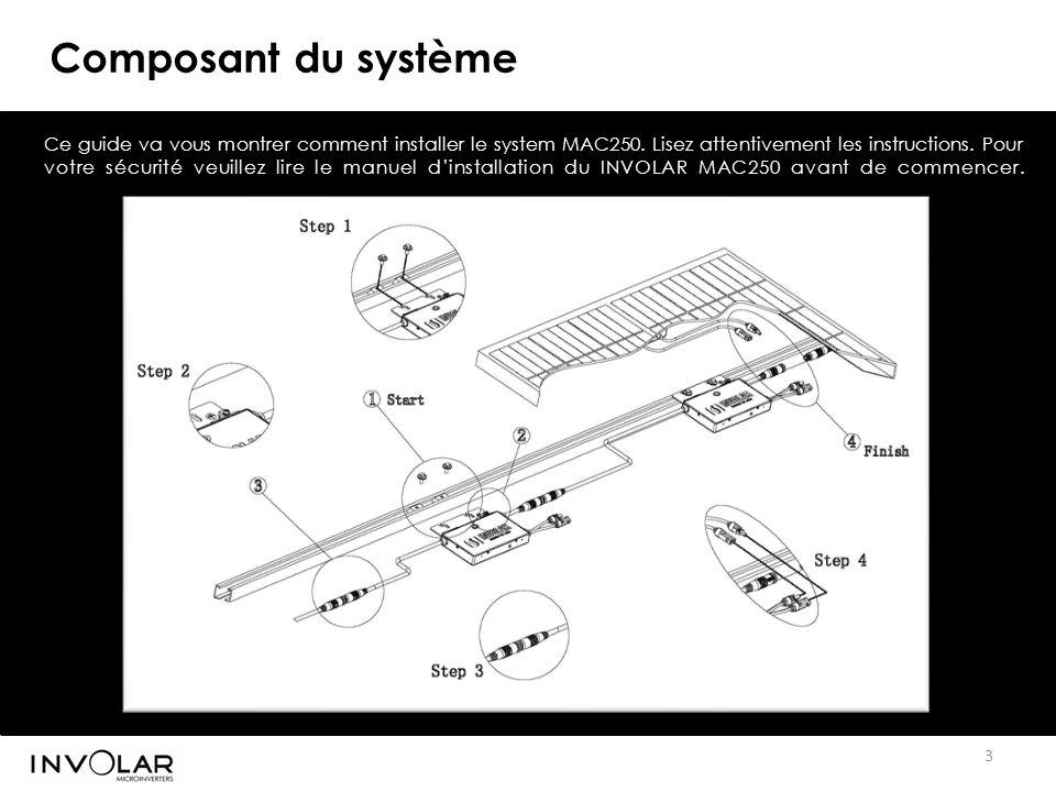 Composant du système