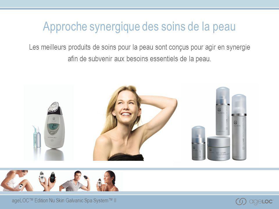 Approche synergique des soins de la peau
