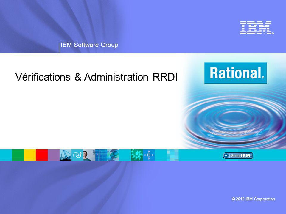Vérifications & Administration RRDI