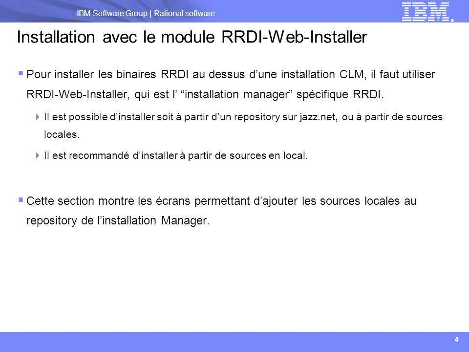 Installation avec le module RRDI-Web-Installer