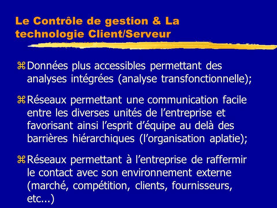 Le Contrôle de gestion & La technologie Client/Serveur
