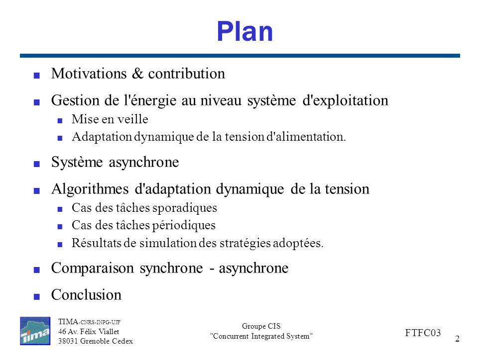 Plan Motivations & contribution