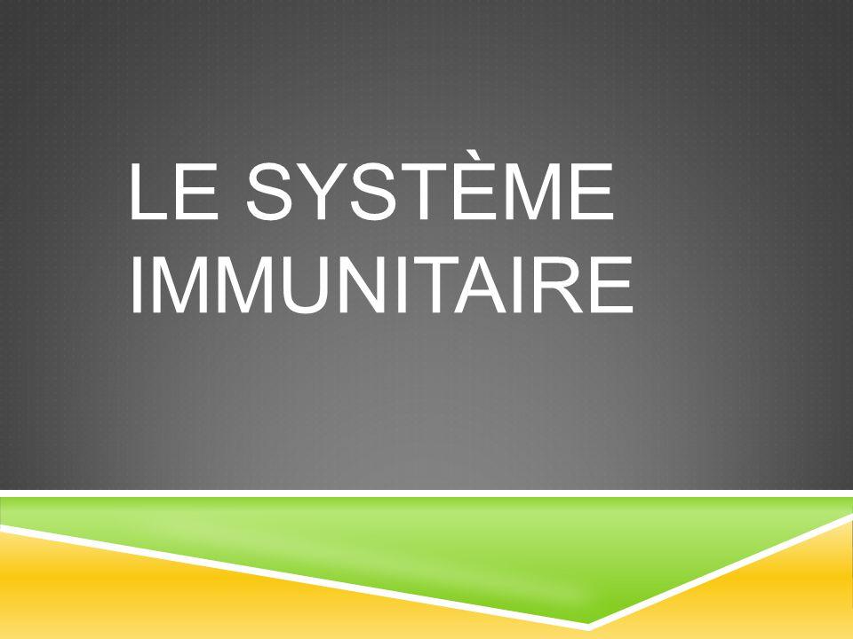 Le système immunitaire