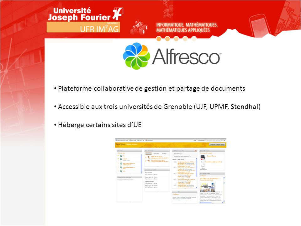 Plateforme collaborative de gestion et partage de documents