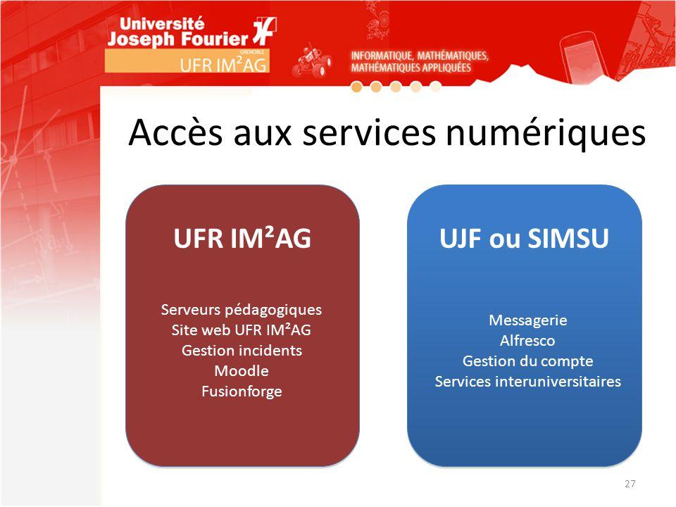 Accès aux services numériques