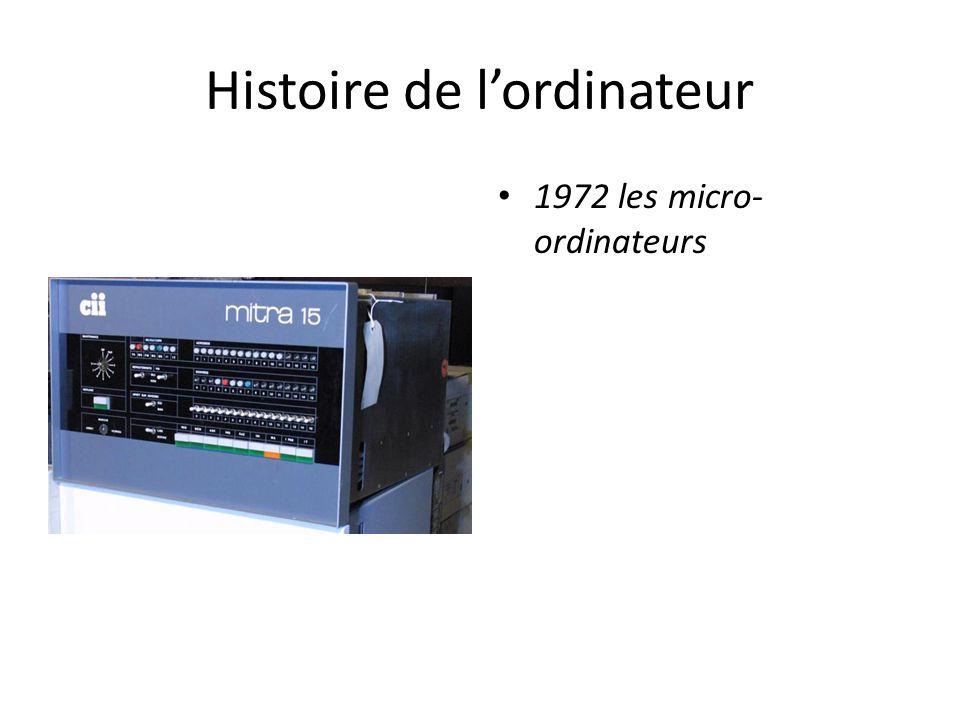 Histoire de l'ordinateur