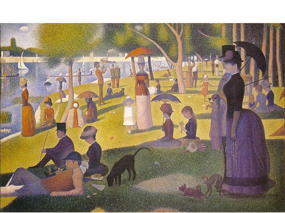 Seurat Sunday Afternoon on the Island of la Grande Jatte (1886)