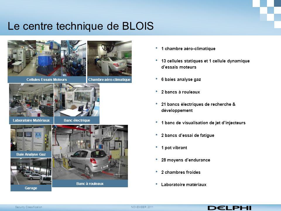 Le centre technique de BLOIS
