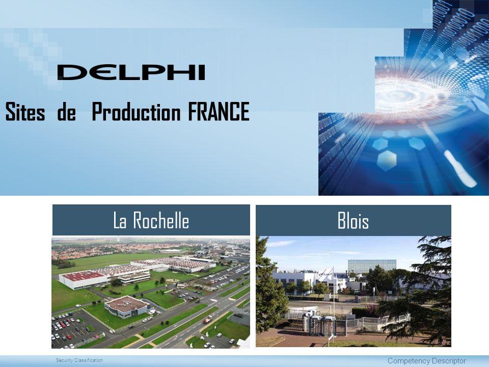 Sites de Production FRANCE