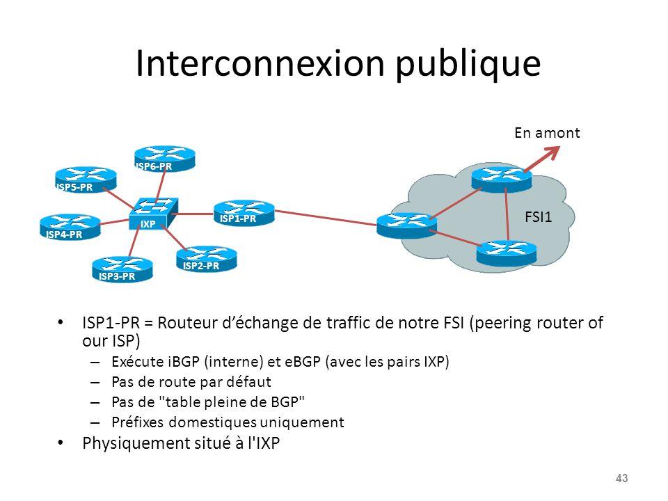 Interconnexion publique