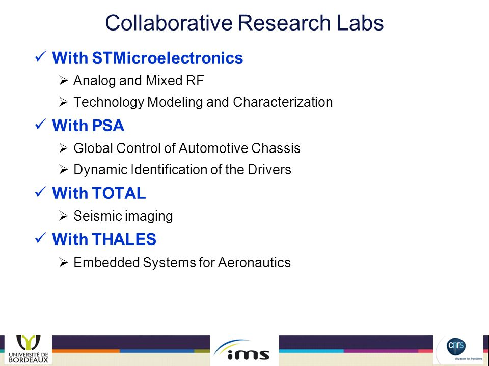 Collaborative Research Labs