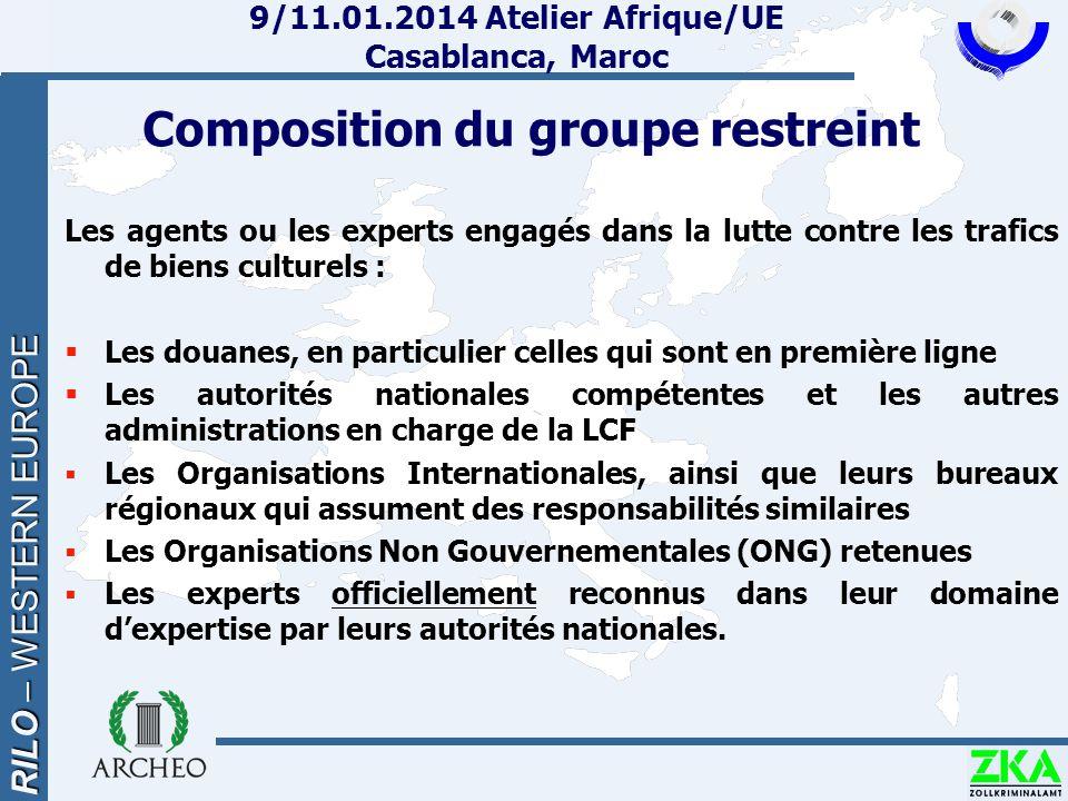 9/11.01.2014 Atelier Afrique/UE Casablanca, Maroc