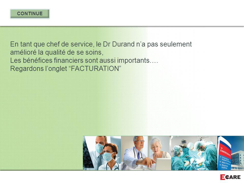 Les bénéfices financiers sont aussi importants….