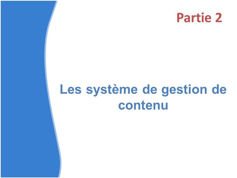 Les système de gestion de contenu