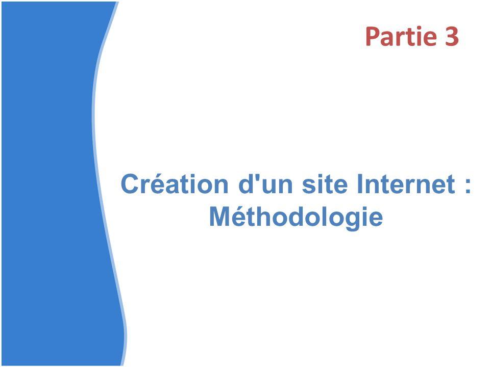 Création d un site Internet : Méthodologie