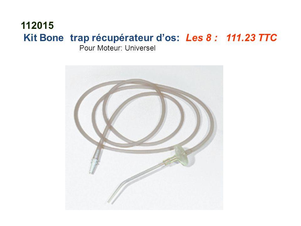 Kit Bone trap récupérateur d'os: Les 8 : 111.23 TTC