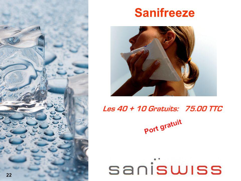 Sanifreeze 22