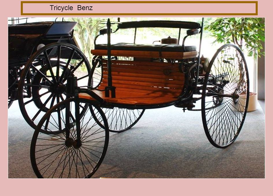 Tricycle Benz
