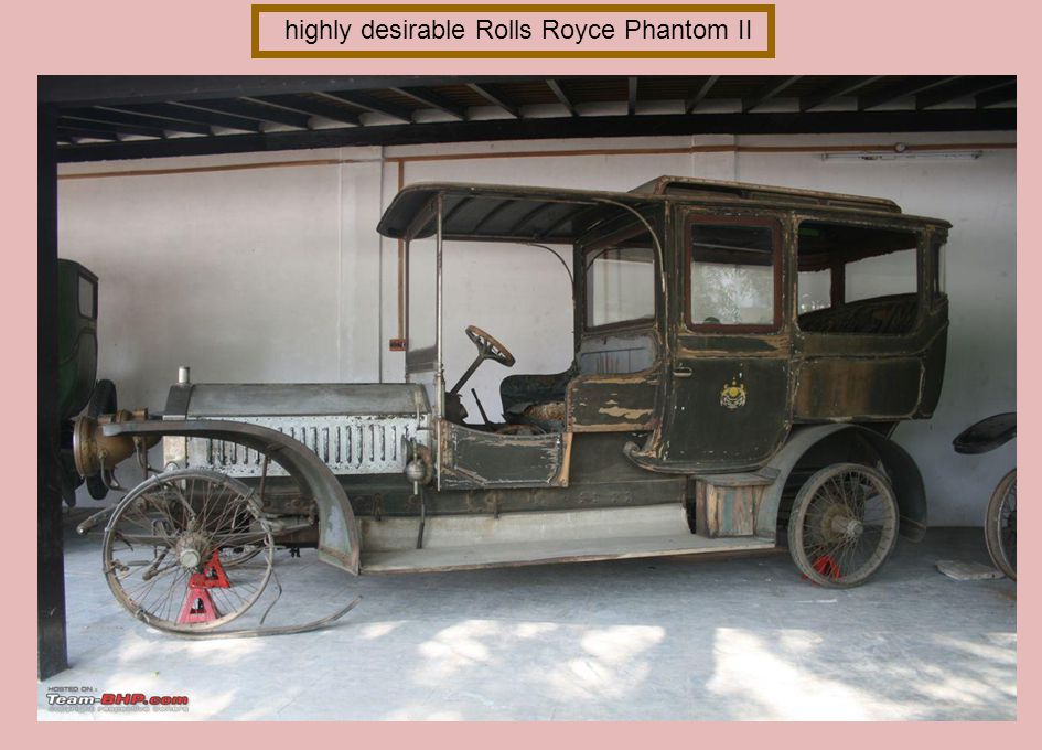 highly desirable Rolls Royce Phantom II