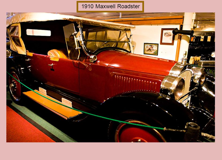 1910 Maxwell Roadster