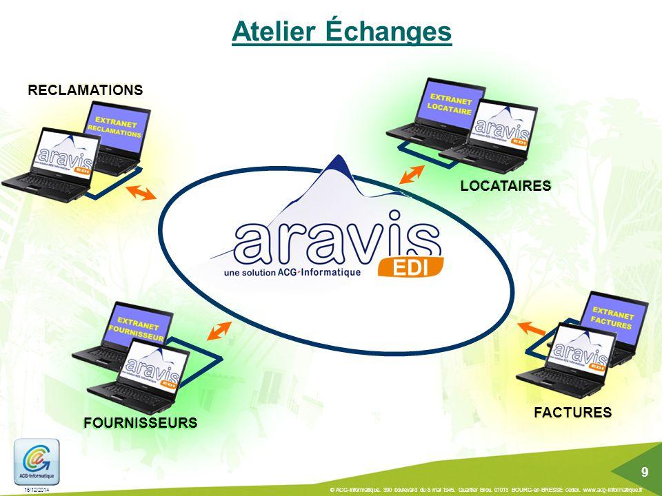 Atelier Échanges EDI RECLAMATIONS LOCATAIRES FACTURES FOURNISSEURS 9