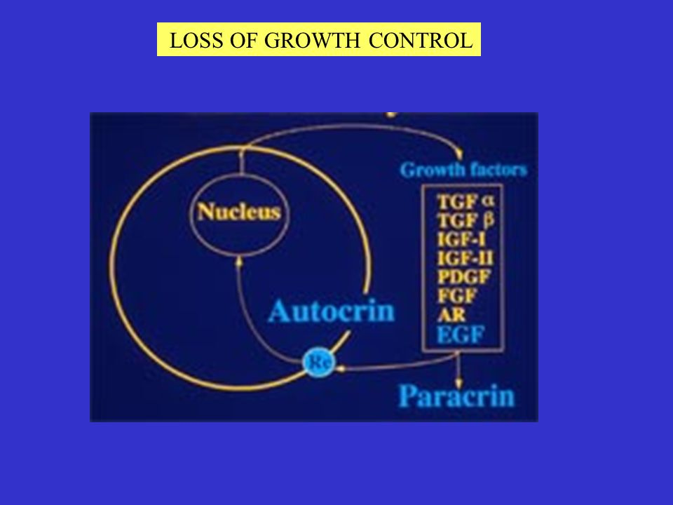 LOSS OF GROWTH CONTROL