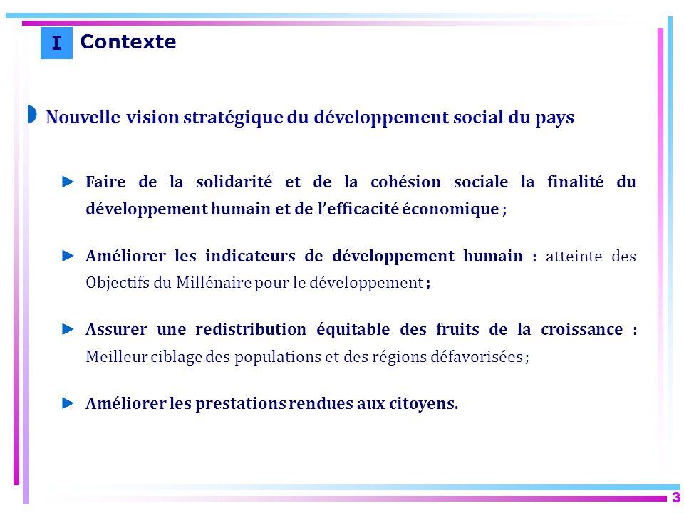 Nouvelle vision stratégique du développement social du pays