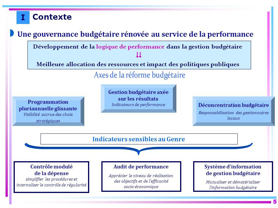Une gouvernance budgétaire rénovée au service de la performance