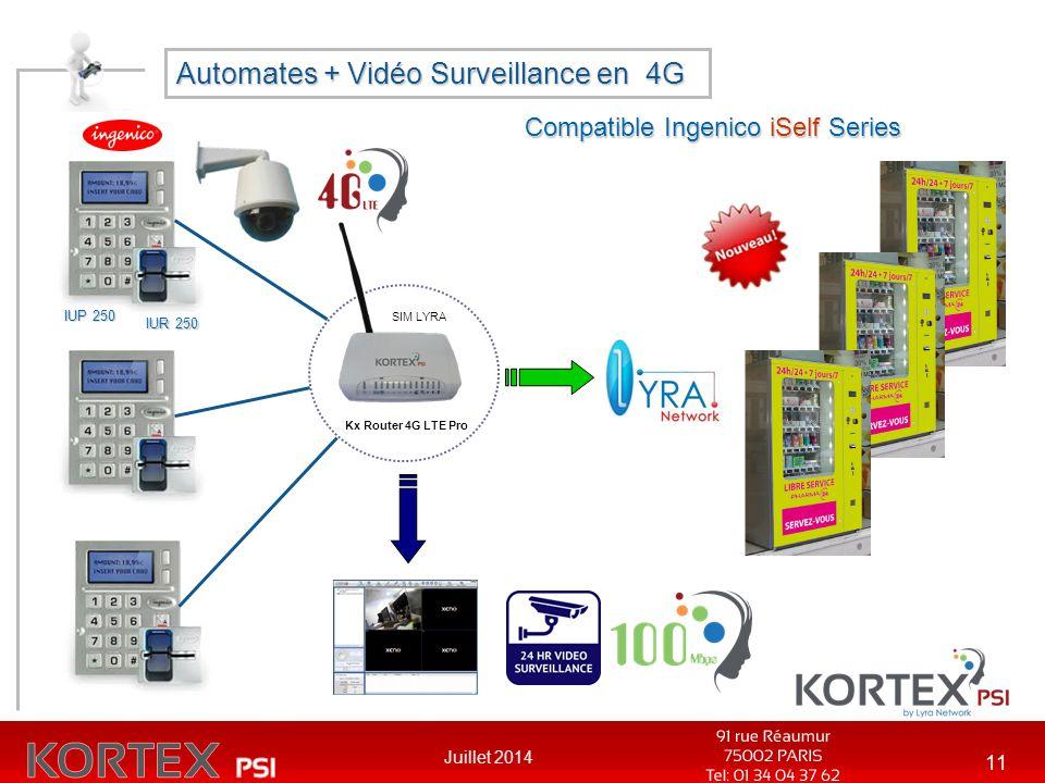 Automates + Vidéo Surveillance en 4G