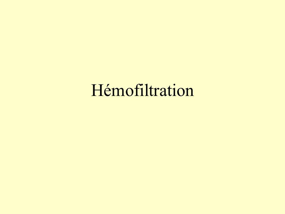 Hémofiltration