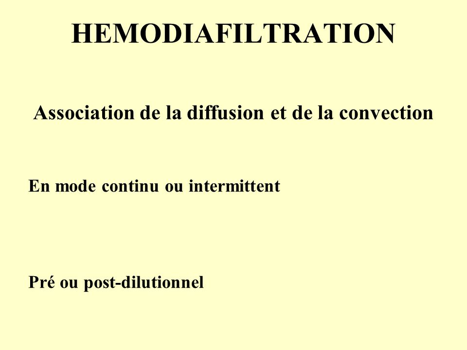 Association de la diffusion et de la convection