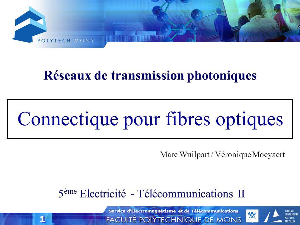 Réseaux de transmission photoniques