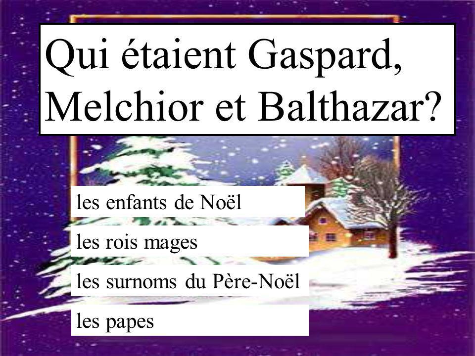 Qui étaient Gaspard, Melchior et Balthazar