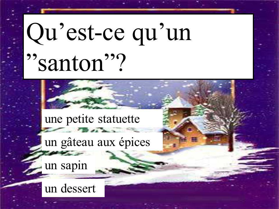 Qu'est-ce qu'un santon