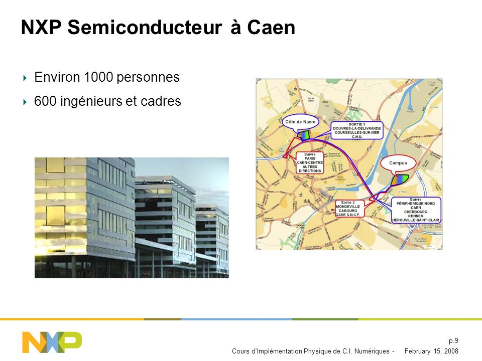 NXP Semiconducteur à Caen