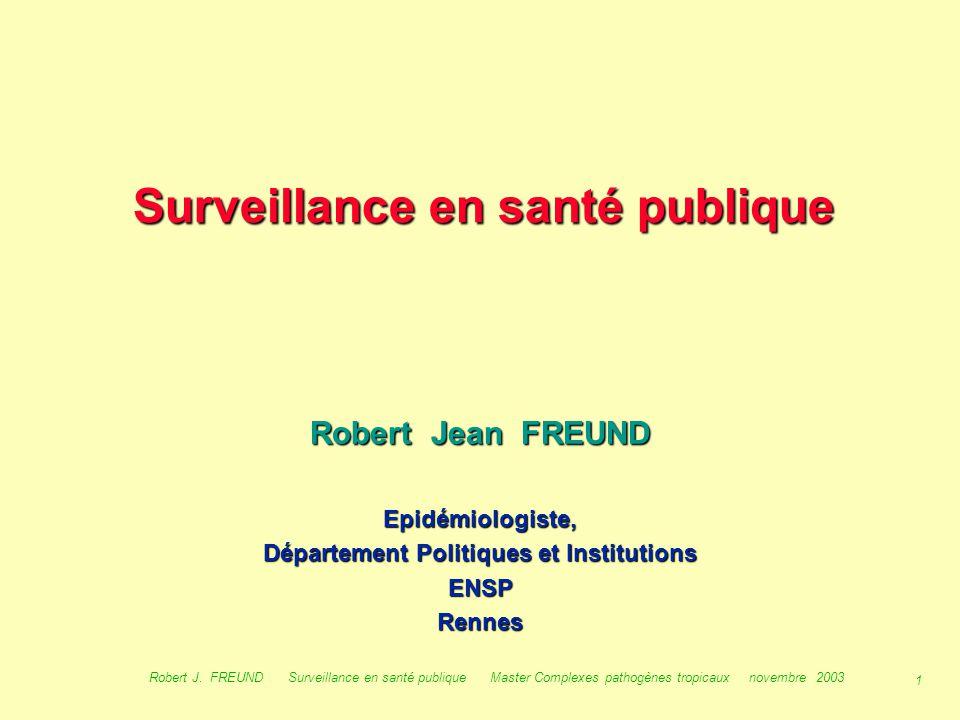 Surveillance en santé publique