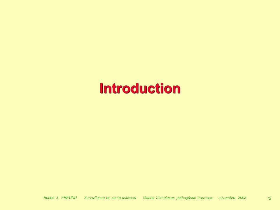 Introduction Robert J.