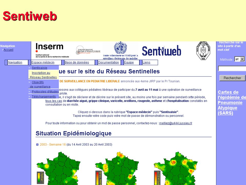 Sentiweb Robert J.