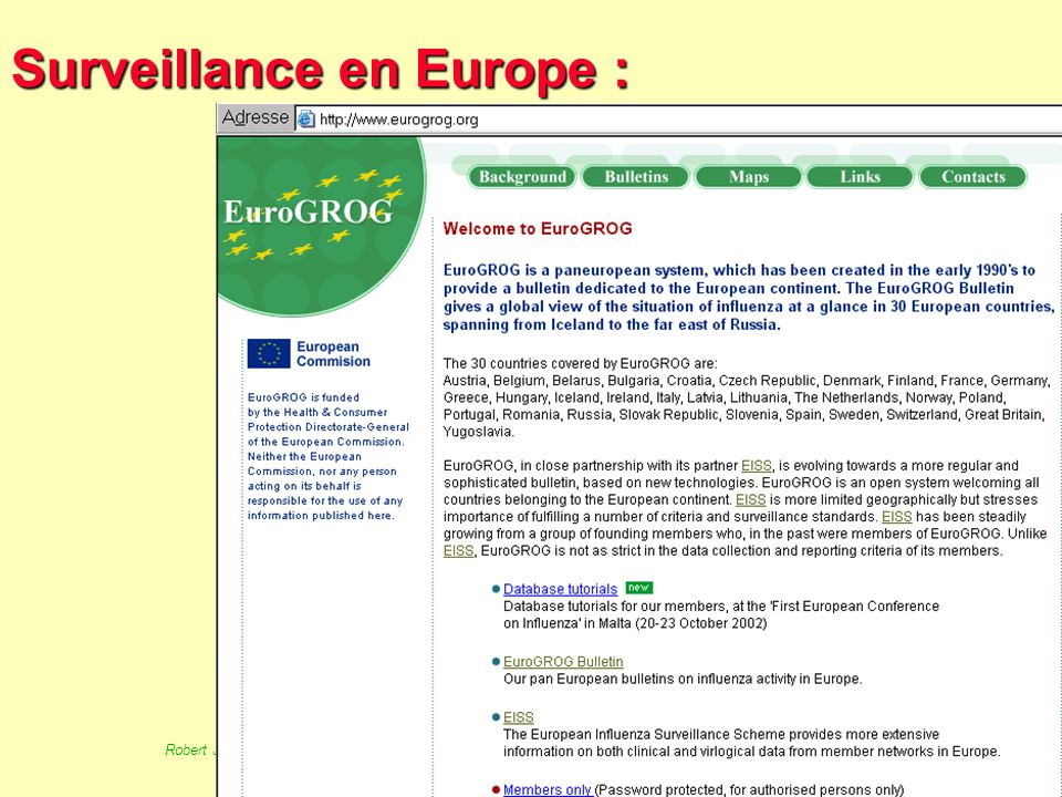 Surveillance en Europe :