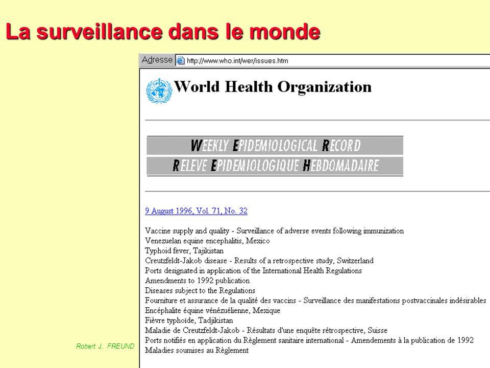 La surveillance dans le monde