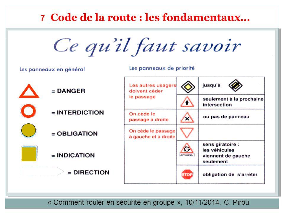 code de la route en pdf