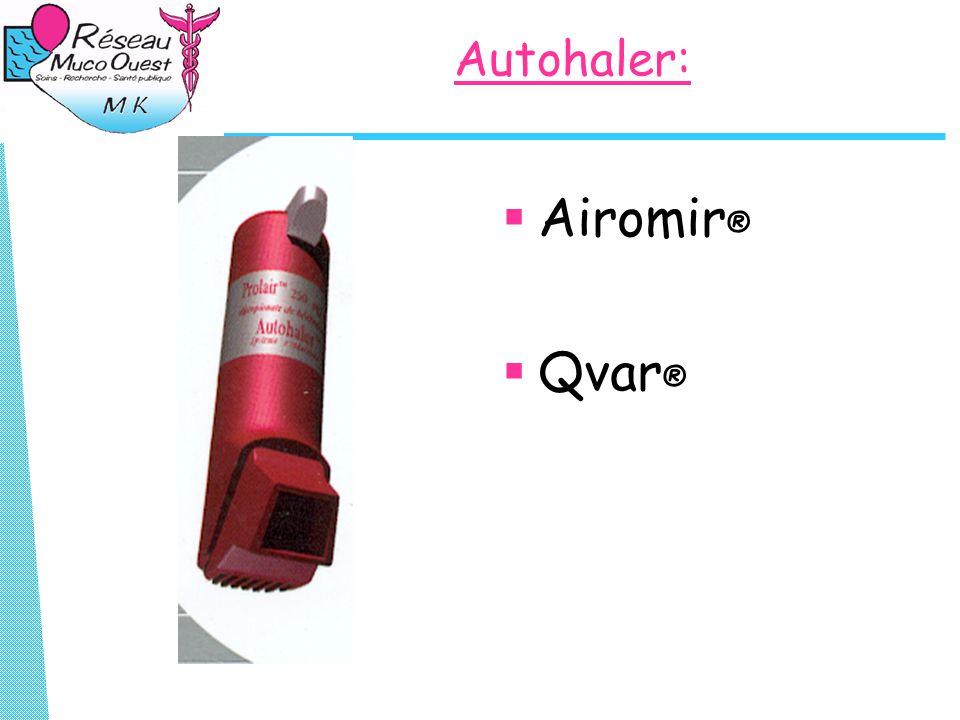 Autohaler: Airomir® Qvar®
